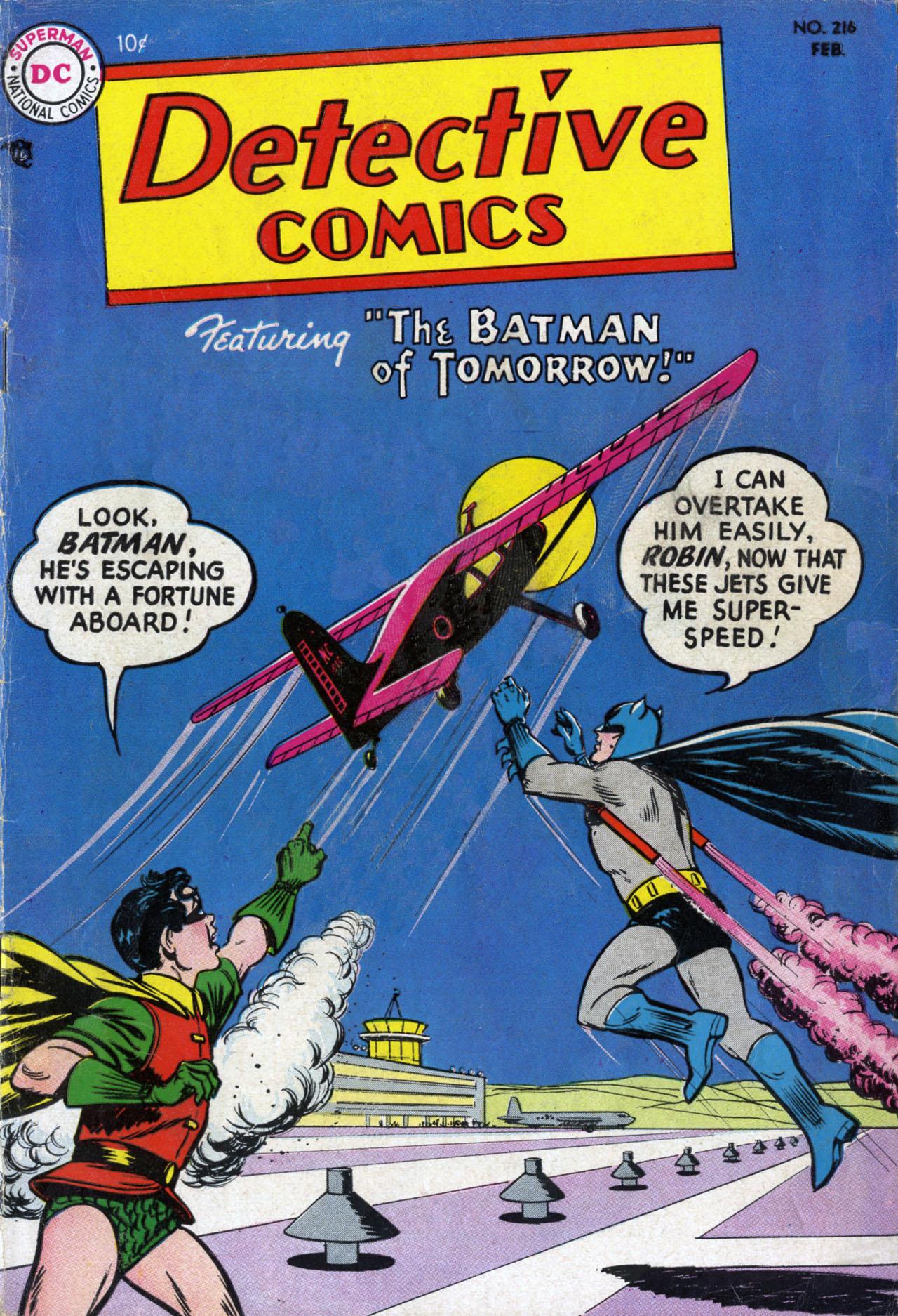 Read online Detective Comics (1937) comic -  Issue #216 - 1