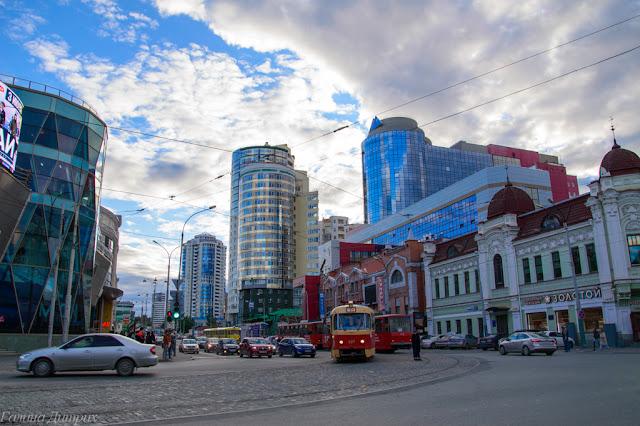 Контрасты Екатеринбурга фото
