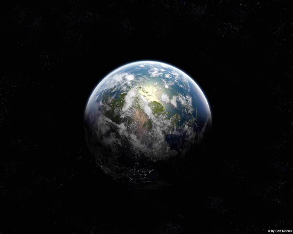 Photography Of Earth From Satellite