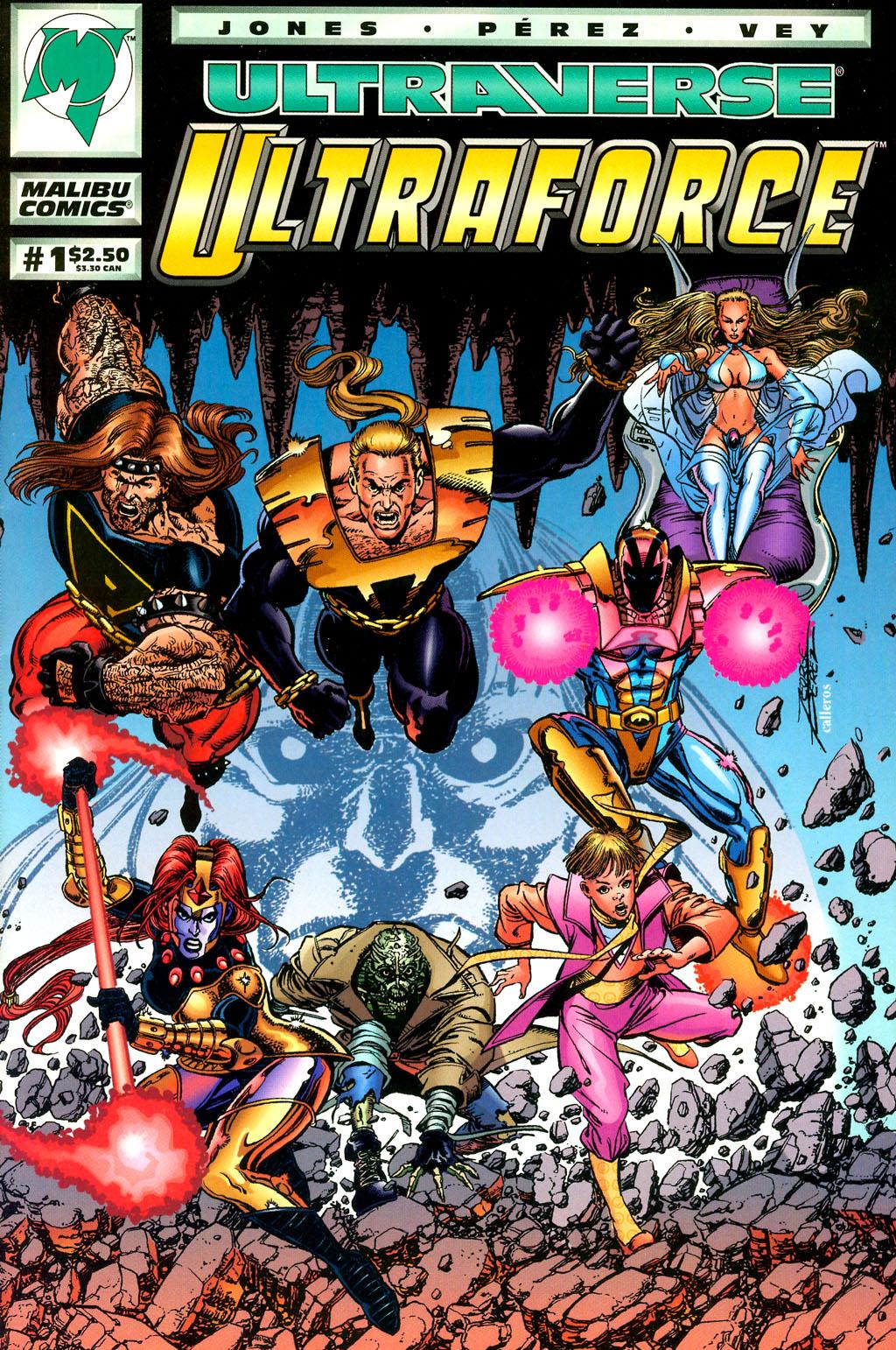 Read online UltraForce (1994) comic -  Issue #1 - 1