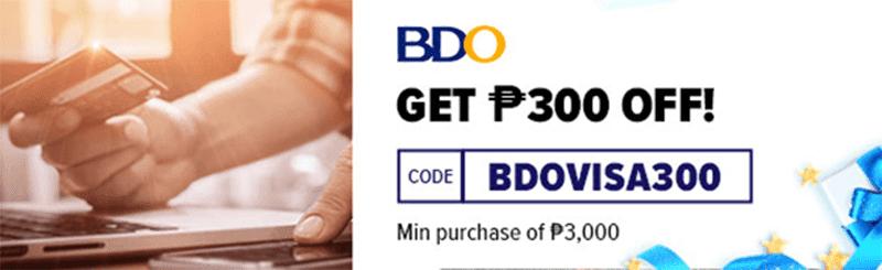 BDO Visa code