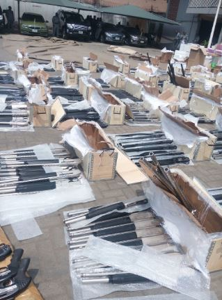 Customs uncover another container from Turkey filled with guns