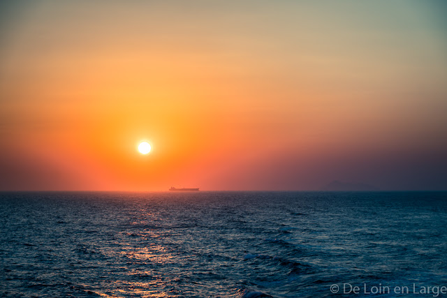 Sunset-traversée Athènes-Naxos