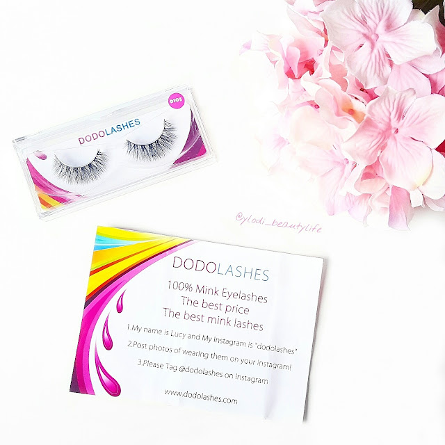 dodo lashes d105 review
