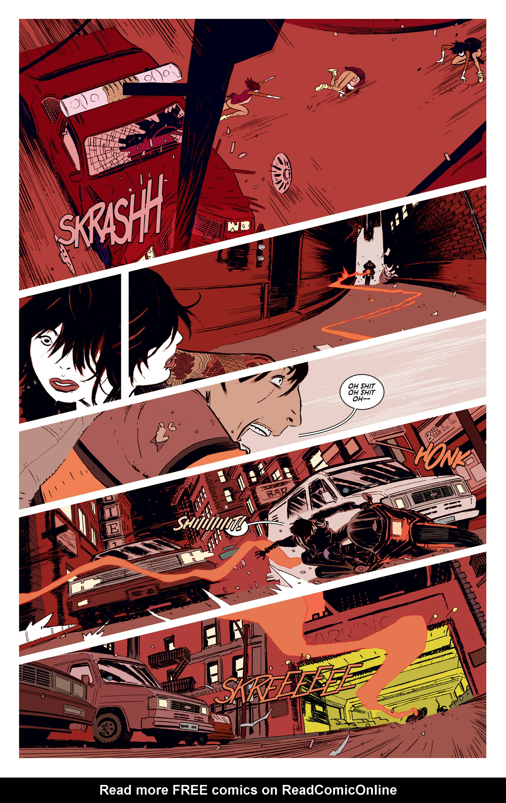 Read online Deadly Class comic -  Issue #1 - 20