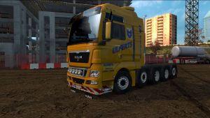 Truck - MAN TGX 8×4 10×4