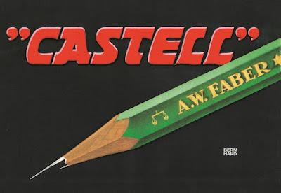lápiz Castell 9000