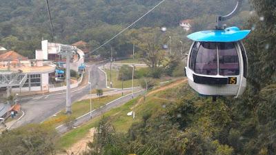 Bondinho do parque Unipraias