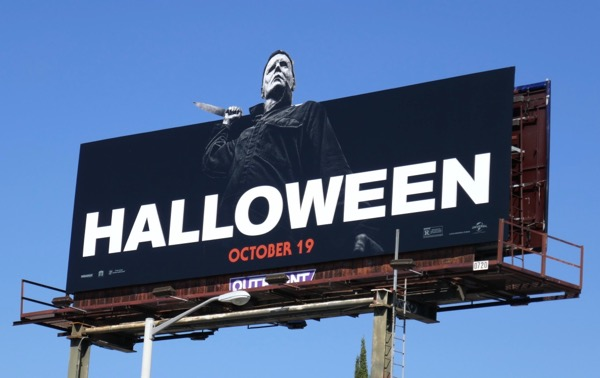 Halloween extension cut-out billboard