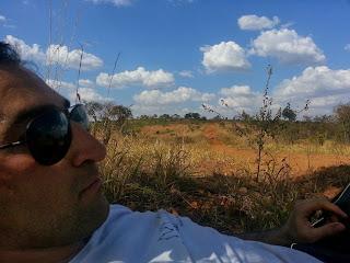 Pedro em dificuldades no interior de Goiás.