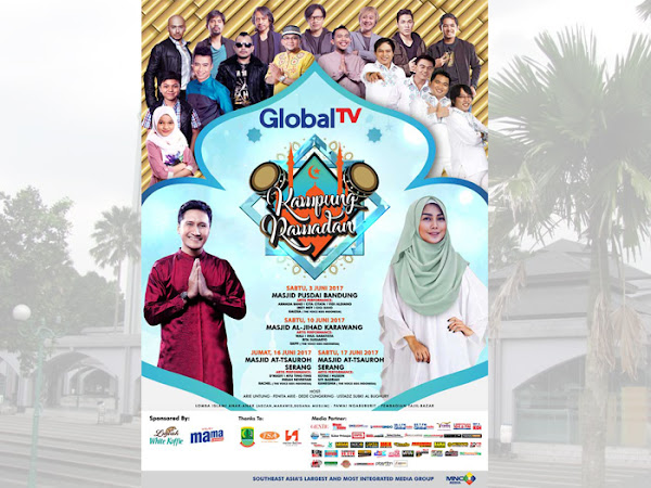 Kampoeng Ramadhan Global TV di Pusdai