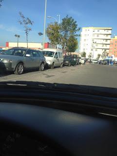 Colas en la Frontera de Melilla