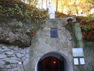 Страдч. Печерний монастир XI-XIII ст. Вхід
