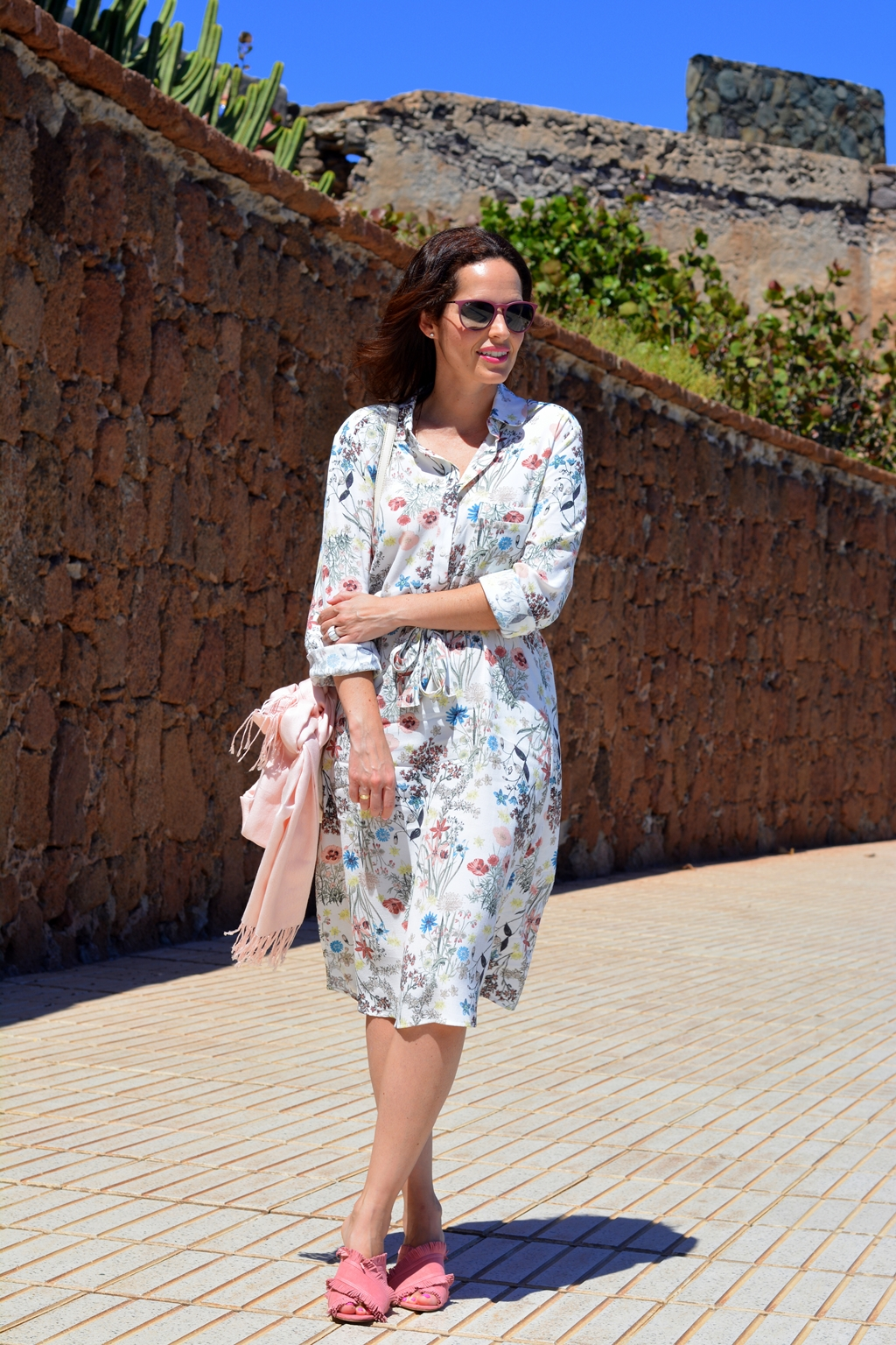 floral-shirt-dress-look-outfit
