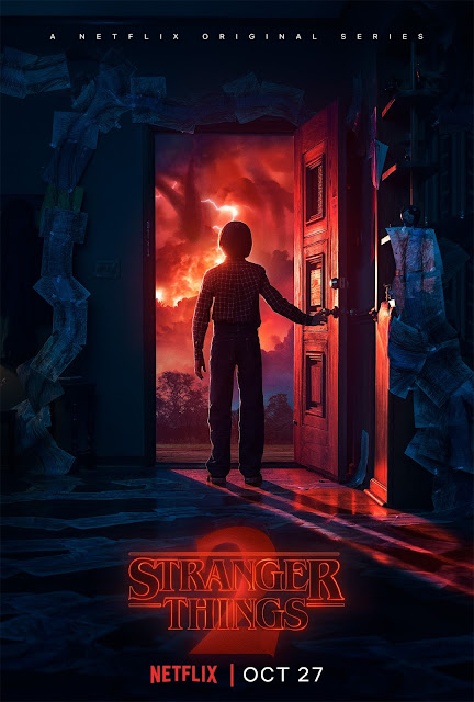Stranger Things Season 2 Doorway Poster