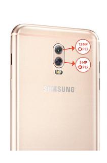 kamera belakang Samsung Galaxy J7+