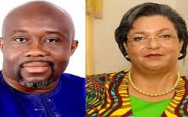 How George Andah's antics 'exposes' Hannah Tetteh in Awutu Senya