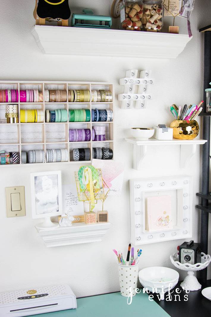 How to storage your @heidiswapp washi tape on a budget by @createoften