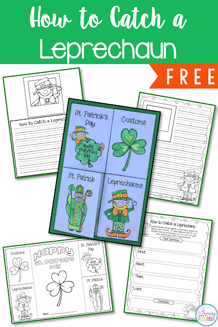 How to Catch a Leprechaun FREEBIE  Informational writing, St. Patrick's Day, First Grade, Second Grade