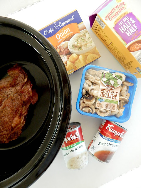 Creamy Slow Cooker Beef and Noodles...an easy dinner that the whole family will love!  Creamy, hearty, FULL of beef flavor, this is one to save for all those cold winter nights. (sweetandsavoryfood.com)