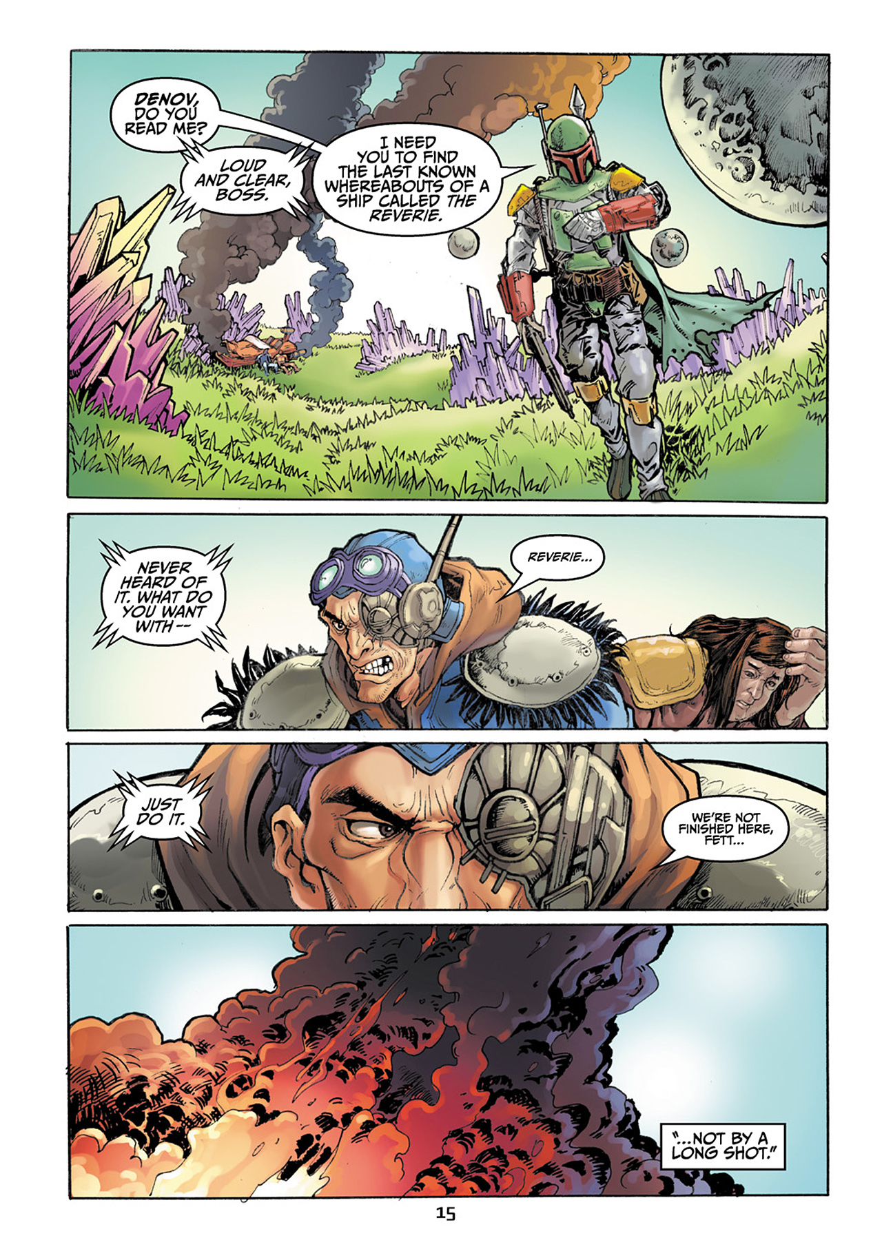 Read online Star Wars Adventures comic -  Issue # Issue Boba Fett and the Ship of Fear - 16