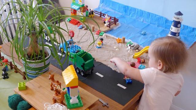 LuLaj: Makieta miasta z użyciem klocków Lego Duplo DIY