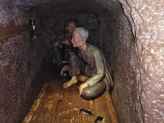 living quarters vinh moc tunnels vietnam