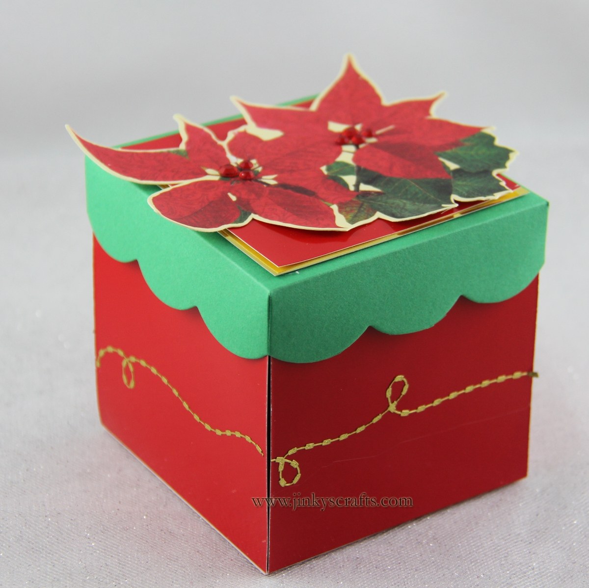 Jinky's Crafts & Designs: Dangling Christmas Ornament ...
