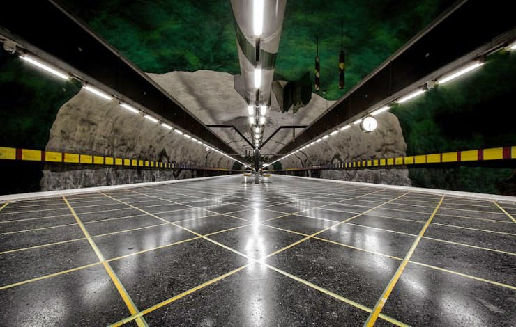 Stockholm Metro Station – the Longest Gallery in the World Found in Sweden