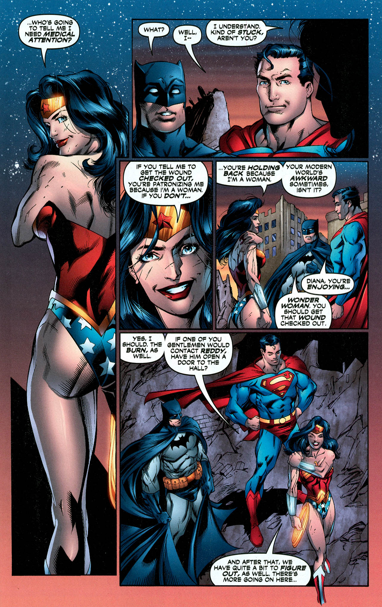 Read online Trinity (2008) comic -  Issue #5 - 17
