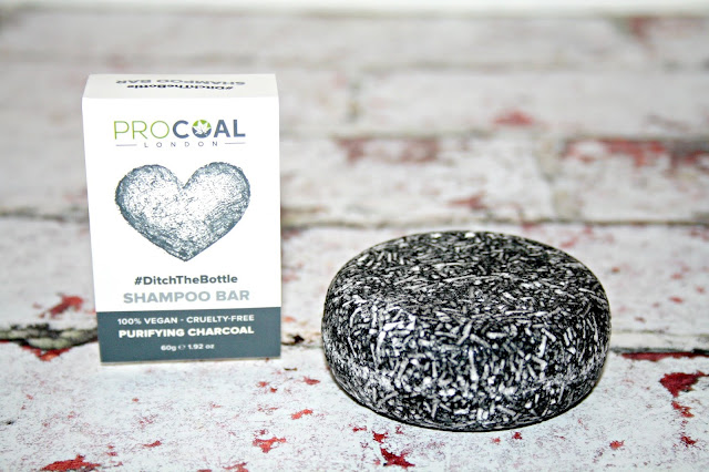 Procoal London Purifying Charcoal Shampoo Bar