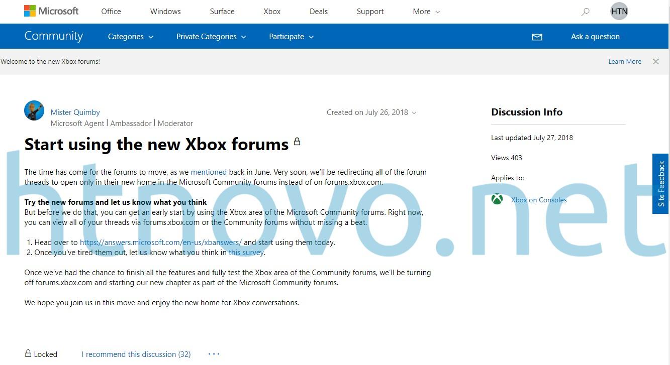 Forum-Xbox-Esclusiva-