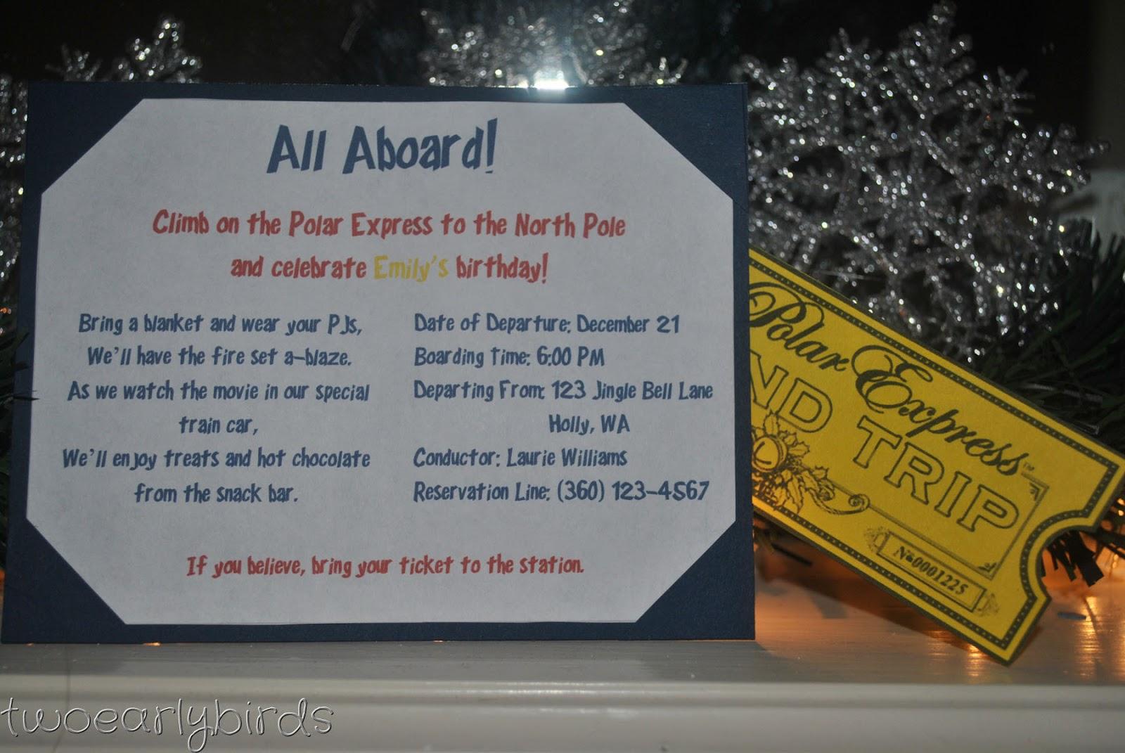 ... polar express ticket template polar express train ticket template