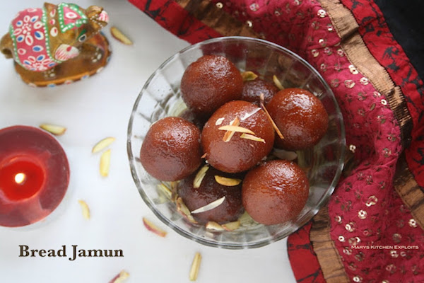 how to make Bread Gulab Jamun | Instant Jamun