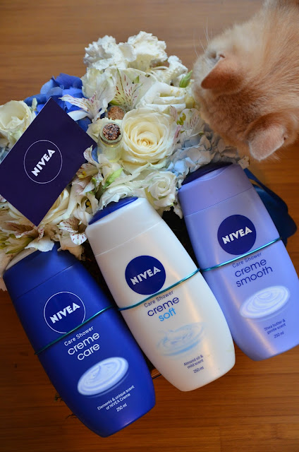 nivea creme shower