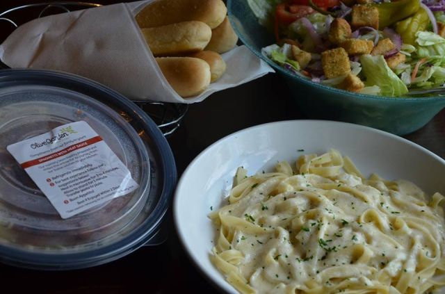 the buy one take one deal is back at olive garden for a limited time under the promotion you get a free select entree to take home when you dine in and - Olive Garden Lunch Time