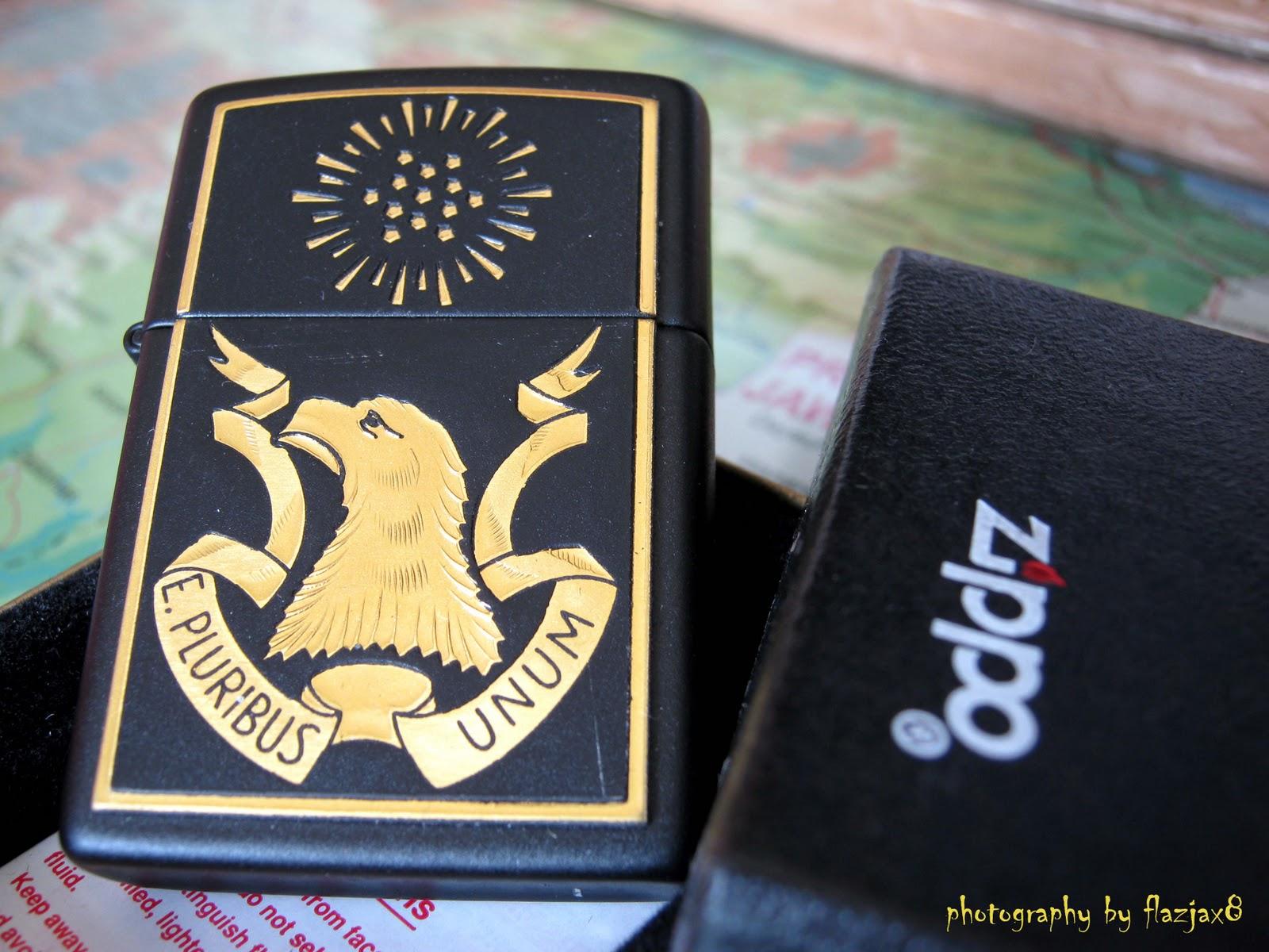 Toko Zippo - flazjax8: PO - Eagle of Justice - E. Pluribus