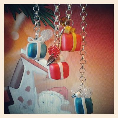 braccialetti pacchetto regalo idee fimo natale alberta bijoux