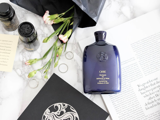 oribe brilliant & shine šampon recenze
