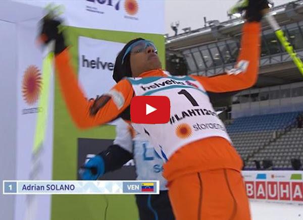 Casi 40.000 dólares costó enviar al esquiador mediocre a Finlandia