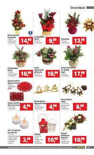 CATALOG METRO Decoratiuni de Craciun 2018 aranjamente florale