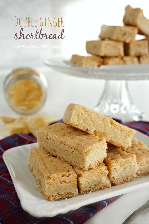 I biscotti allo zenzero più buoni del mondo ricetta favolosa Double ginger shortbread amazing delicious recipe