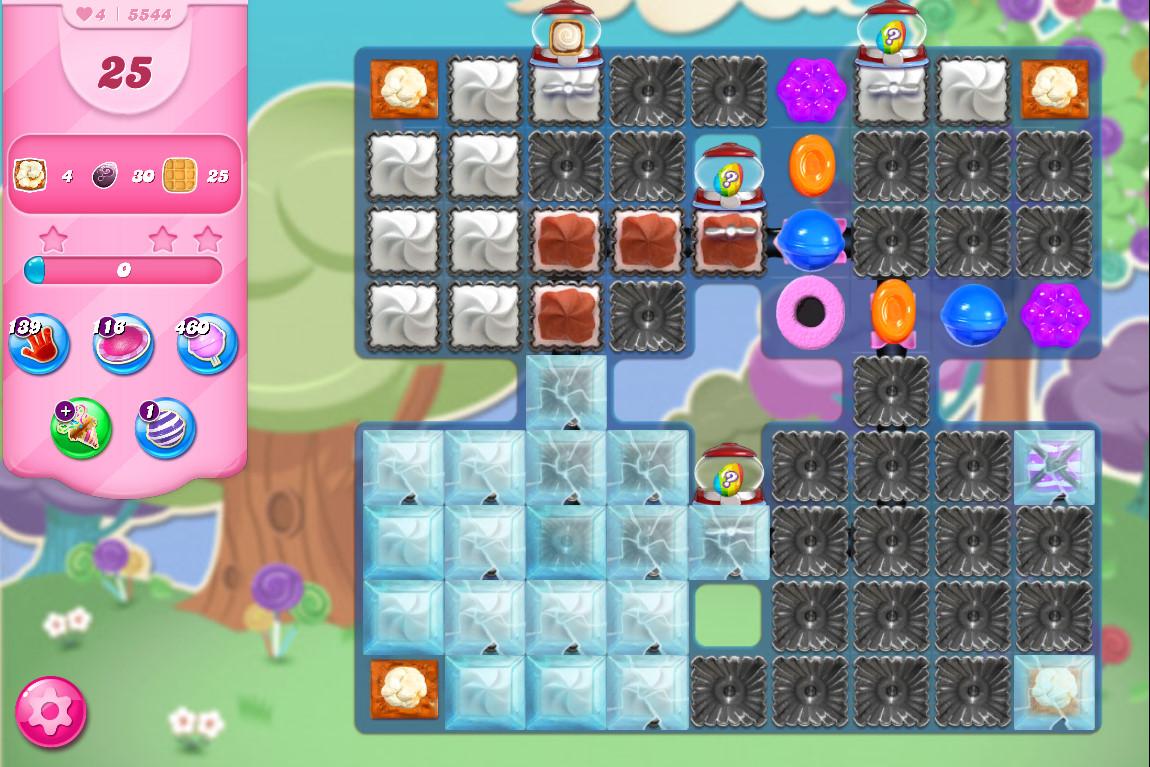 Candy Crush Saga level 5544