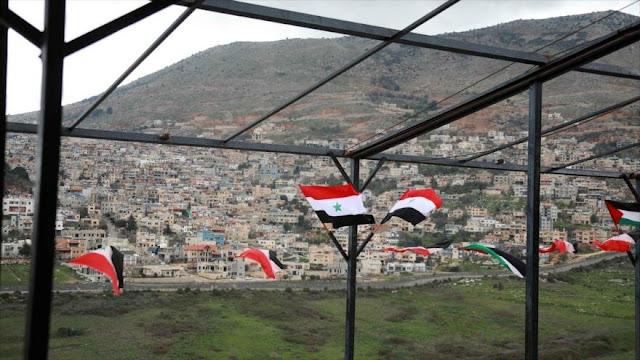 Israel planea establecer 250 000 colonos en los altos del Golán