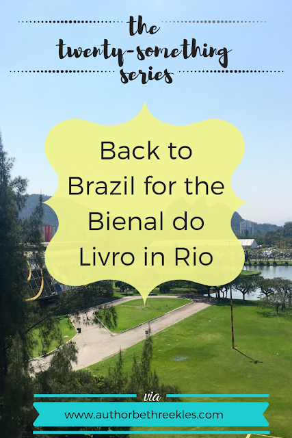 I spent the weekend in Rio de Janeiro for the Bienal do Livro - here's how it went!