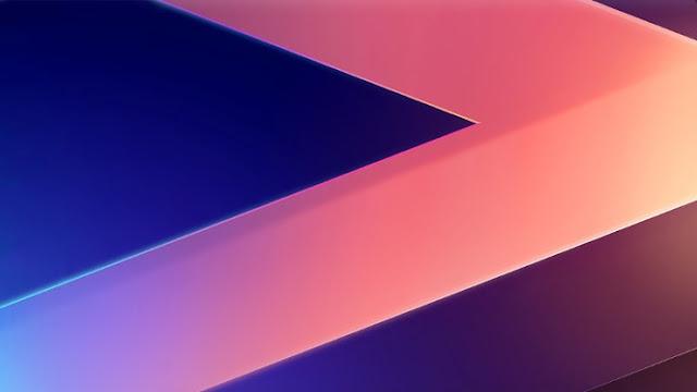 3D Letter V LG V30 Stock - Fond d'Écran en Full HD