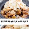 FRENCH APPLE COBBLER
