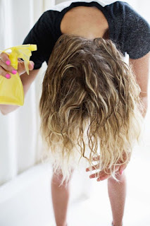 protect your hair at the beach and pool with GKhair Keratin Treatments, Olaplex, highlights