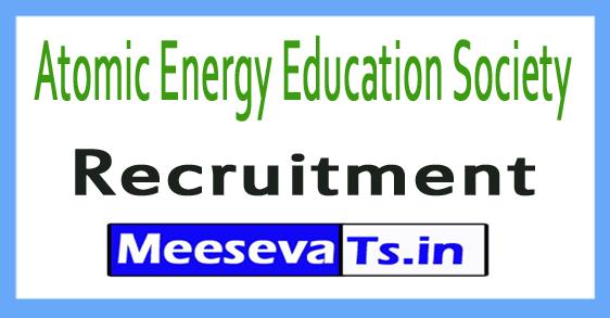 Atomic Energy Education Society AEES Recruitment