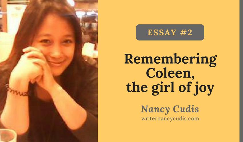family cousins Coleen Joy Remedio